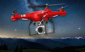 From £24.99 instead of £119.99 (from Wow What Who) for a RC Drone with 4K wide angle camera - save up to 79%