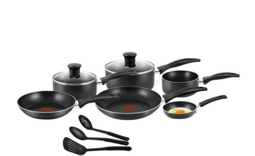£40 instead of £99.99 (from Elite Housewares) for a nine-piece Tefal non-stick EasyCare set - save 60%
