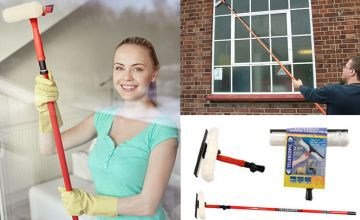 £7.99 instead of £27.99 for a 3.5m telescopic window cleaning kit from Direct2Public Ltd - save 71%