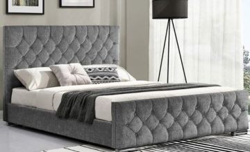 From £169.99 for a Paris fabric bed hand made upholstered bed frame, multiple colours available from Dreamtouch Mattresses LTD - save up to 66%