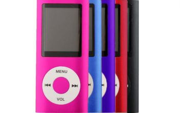 £9.99 instead of £35 (from CN Hut) for a 4th generation MP4 player, £14 for a MP4 with storage - choose between five colours and save up to 71%