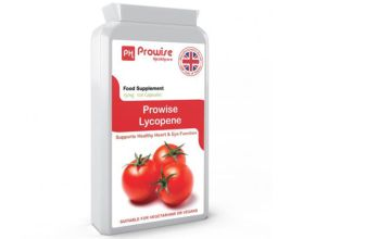 £11.99 instead of £42 (from Prowise) for a four-month* supply of lycopene capsules supplements- save 71%