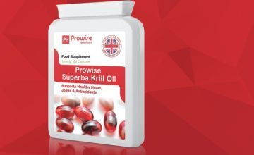 £12.99 instead of £47 (from Prowise Healthcare) for a two month supply* of Prowise Superba Krill oil capsules - save 72%
