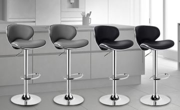 £54.99 instead of £195.00 (from Home Empire) for a pair of Madison bar stools - save 72%