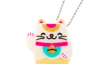 Go to Product: Pucker Pops Lucky Cat Lip Gloss - Bubblegum