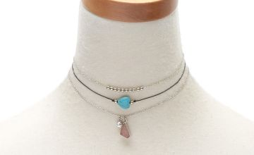 Go to Product: Druzy Stone Choker Necklaces - 3 Pack