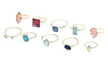 Go to Product: Romantic Bling Multi-Size Rings - 10 Pack