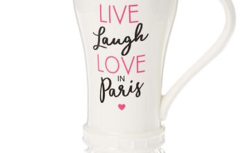 Go to Product: Love Paris Eiffel Tower Ceramic Mug - White