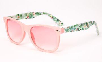 Go to Product: Retro Palm Leaf Sunglasses - Pink