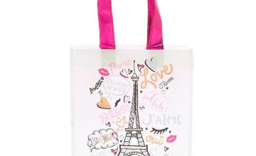Go to Product: Paris Reusable Tote Bag - Pink
