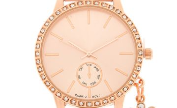 Go to Product: Rose Gold Charm Classic Watch