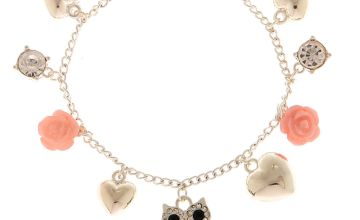 Go to Product: Silver Owl Charm Bracelet