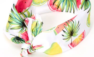 Go to Product: Neon Tropical Fruit Bandana Headwrap