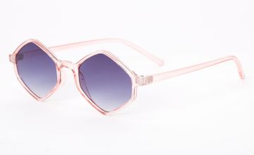 Go to Product: Hexagon Sunglasses - Pink