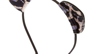 Go to Product: Velvet Leopard Cat Ears Headband