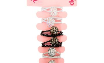 Go to Product: Claire's Club Fireball Hair Bobble - 6 Pack