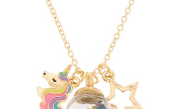 Go to Product: Gold Magic Confetti Charm Pendant Necklace