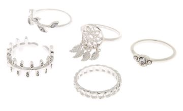 Go to Product: Silver Dreamcatcher Rings - 5 Pack