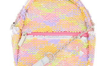 Go to Product: Reversible Sequin Neon Mini Backpack Crossbody Bag