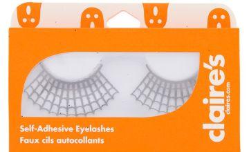 Go to Product: Spiderweb Glitter Eyelashes - Black