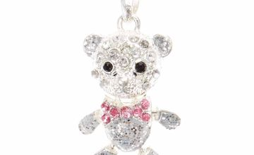 Go to Product: Silver Embellished Teddy Bear Pendant Necklace