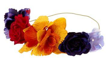 Go to Product: Autumn Velvet Flower Crown Headwrap