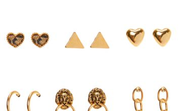 Go to Product: Mixed Gold Earrings - 9 Pack