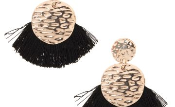 Go to Product: Black Tassel Drop Earrings