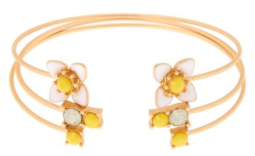 Go to Product: Gold Daisy Cuff Bracelets - 3 Pack