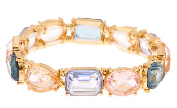 Go to Product: Gold Geometric Stone Stretch Bracelet