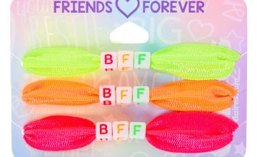 Go to Product: Neon Ribbon Stretch Friendship Bracelets - 3 Pack