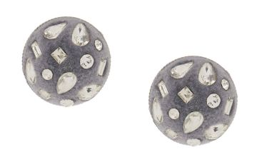 Go to Product: Velvet Glam Button Post Earrings