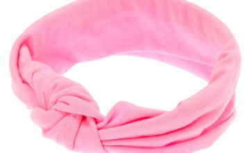 Go to Product: Claire's Club Tie Headwrap - Pink