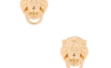 Go to Product: Gold Lion Door Knocker Stud Earrings