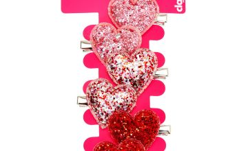 Go to Product: Glitter Heart Hair Clips - 6 Pack