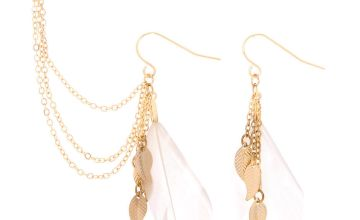 Go to Product: Gold Feather Ear Connector Earrings