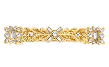 Go to Product: Gold Greek Goddess Crystal Hair Barrette