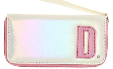 Go to Product: Pearlescent Initial Wristlet - D