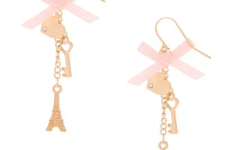 "Go to Product: Gold 2"" Paris Romance Drop Earrings"