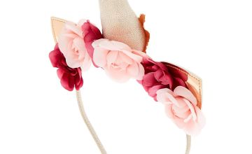 Go to Product: Rose Gold Unicorn Flower Crown Headband
