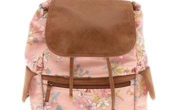Go to Product: Floral Flap Backpack - Pink
