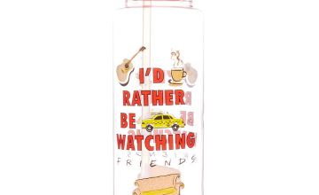 Go to Product: FRIENDS™ I'd rather be watching F.R.I.E.N.D.S Water Bottle - Red