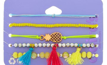 Go to Product: Pineapple Tassel Bracelets - Yellow, 5 Pack