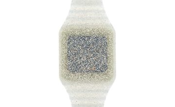 Go to Product: Glitter LED Watch - Silver