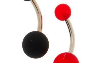 Go to Product: Rubber Ball Belly Rings - 2 Pack