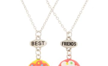 Go to Product: Best Friends Neon Donut Pendant Necklaces - 2 Pack