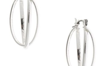 Go to Product: Silver 25MM Double Oval Hoop Earrings