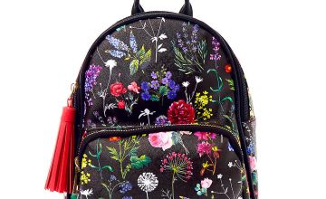 Go to Product: Botanical Floral Small Backpack - Black