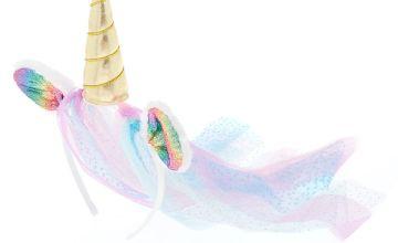 Go to Product: Claire's Club Unicorn Veil Headband