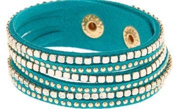 Go to Product: Western Wrap Bracelet - Turquoise